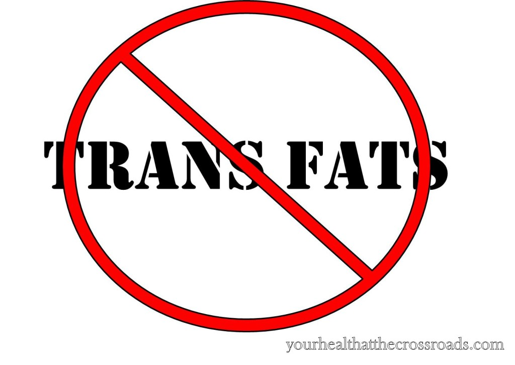 Trans Fats are Outta Here!